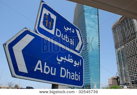 Trafic Sign In Dubai