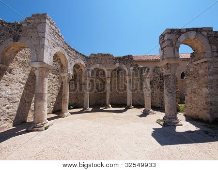 Ruins Of The Church Of St. John The Evangelist