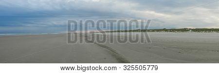 Sunrise Along Coast Of The Dutch Waddenzee