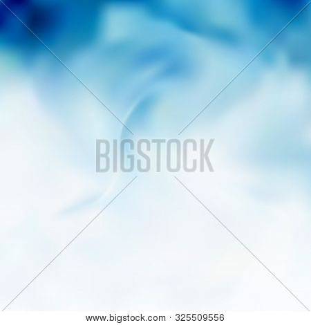 Smooth Abstract Border Wave Soft Dotted Background Modern Futuristic Cool Layout. Vector Illustratio