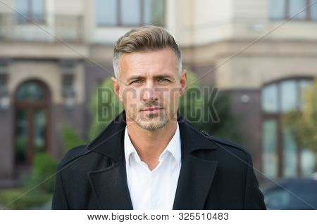 Facial Care And Ageing. Beauty Of Mature Face. Traits And Behaviors That Make Men More Appealing. At