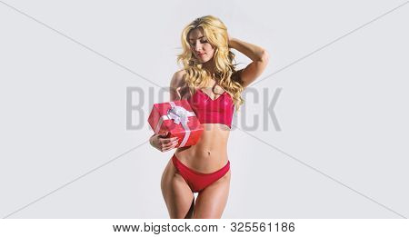 Woman Wear Sexy Erotic Lingerie. Sexy Underclothing Fashion. Seductive Sexy Woman In Lingerie. Fashi
