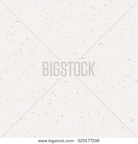 Hand Made Washi Paper Texture Seamless Pattern. Tiny Speckled Hand Drawn Flecks . Soft Ecru Off Whit