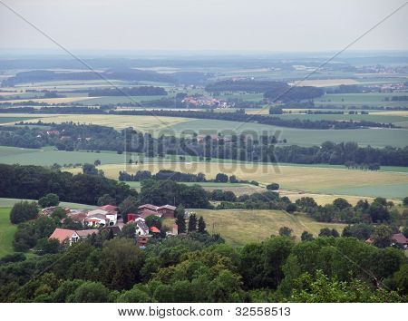 Panoramic View From Waldenburg