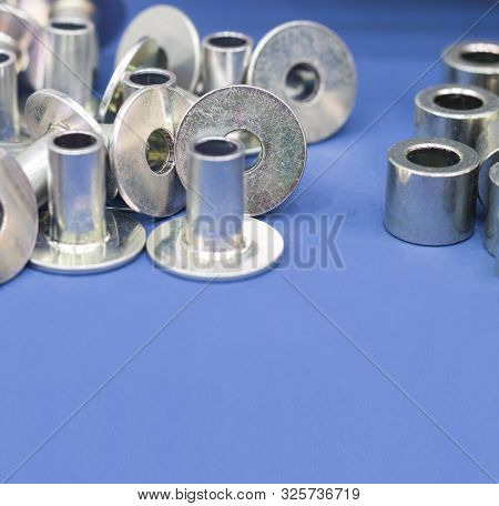 Steel Part With  Zinc Plating  Manufacturing Process ; Tapping