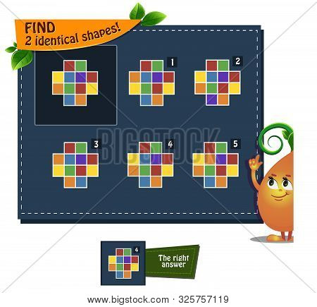 Game Find 2 Idenical Shapes