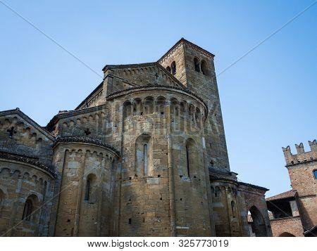 Collegiate Church Collegiata Di Santa Maria In Castell Arquato, Italy