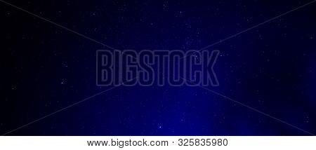 Night Start Sky Background Abstract Design Empty