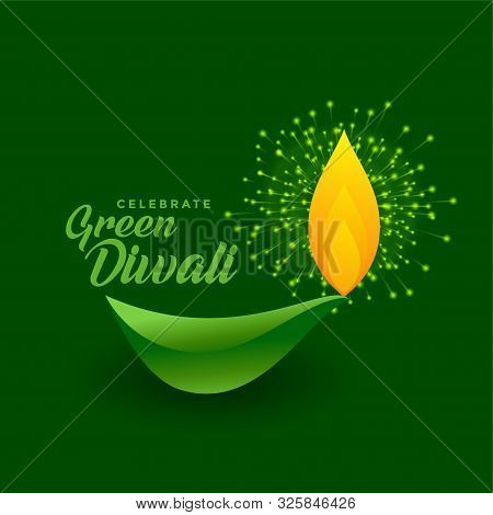 Happy Green Diwali Celebration With Eco Friendly Firework