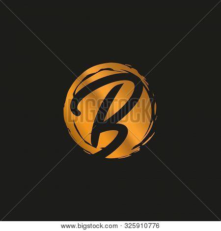 B. B Monogram Logo.b Letter Logo Design Vector Illustration Template. B Logo Vector. Creative Letter