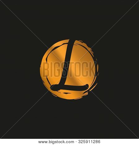 L. L Monogram Logo. L Letter Logo Design Vector Illustration Template. L Logo Vector. Creative Lette