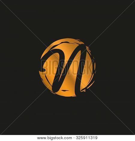 N, N Monogram Logo. N Letter Logo Design Vector Illustration Template. N Logo Vector. Creative Lette