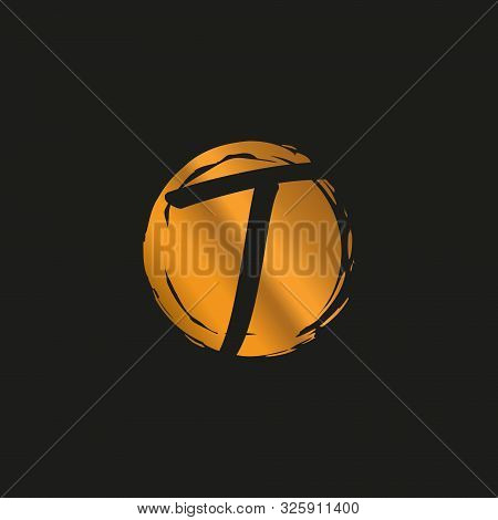 T. T Monogram Logo. T Letter Logo Design Vector Illustration Template. T Logo Vector. Creative Lette