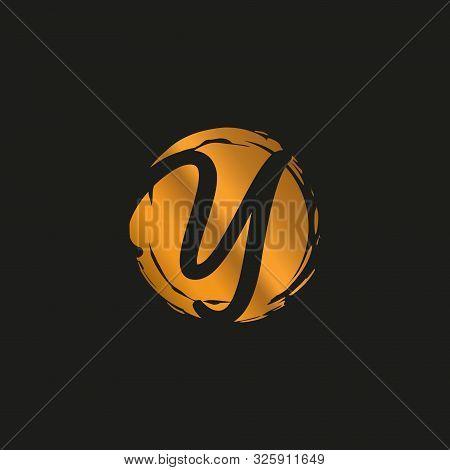 Y. Y Monogram Logo. Y Letter Logo Design Vector Illustration Template. Y Logo Vector. Creative Lette