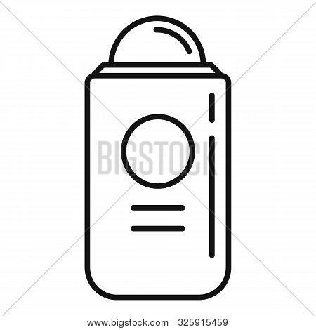 Antiperspirant Icon. Outline Antiperspirant Vector Icon For Web Design Isolated On White Background