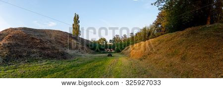 Destroyed The East Fort Of The Brest Fortress Was The Last Center Of Defense Of The Brest Fortress,