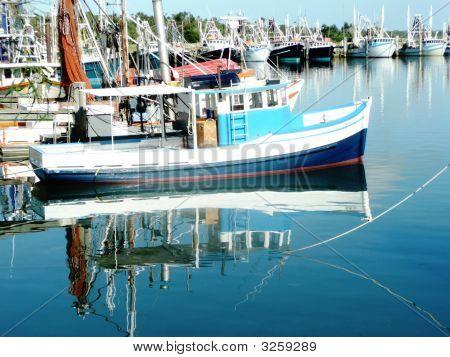 Fishing Boats At Illuka, New South Wales.  047.
