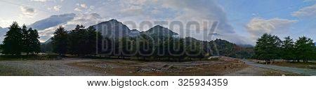 Clouds Over Mountains - Cozia Mountains, Carphatians, Romania