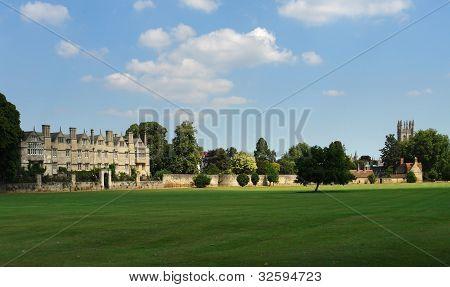 Merton College Panorama