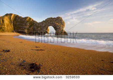 Durdle Door Rock Arch In Dorset UK