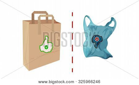Paper Cellophane Bags Vector Photo Free Trial Bigstock