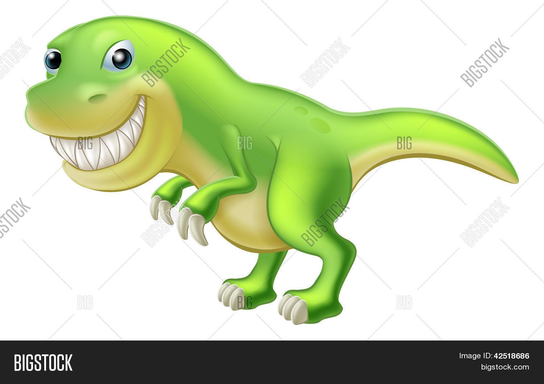 Vector Y Foto T Rex Dinosaurio De Prueba Gratis Bigstock