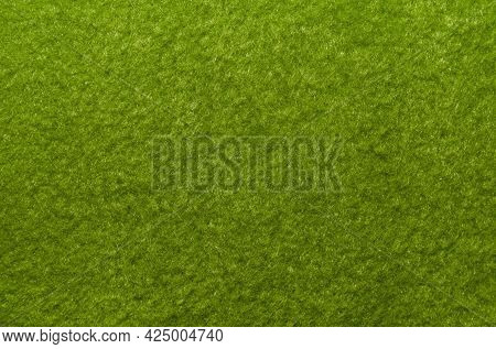 Felt. Background From Green Felt Fabric. The Cloth