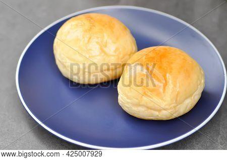 Bun Or Perilla Bun, Cream Bun Or Butter Bun