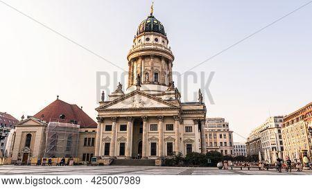 Berlin, Germany - March 28, 2020 - Französischer Dom, Meaning