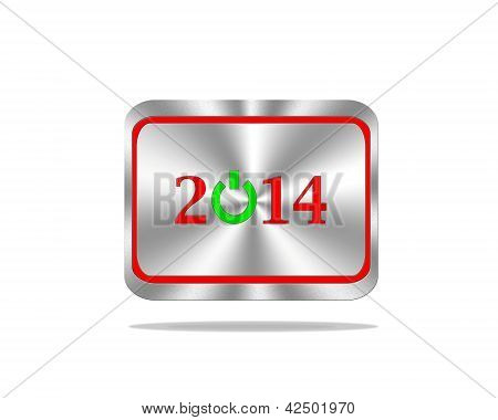 2014 On Button.