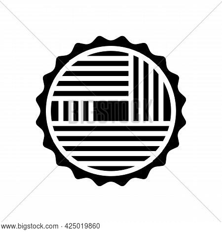 Wood Timber Glyph Icon Vector. Wood Timber Sign. Isolated Contour Symbol Black Illustration
