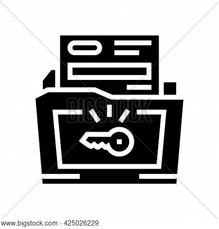 Solutions For Complex Business Operations Glyph Icon Vector. Solutions For Complex Business Operatio