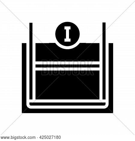 Primary Reinforcement Glyph Icon Vector. Primary Reinforcement Sign. Isolated Contour Symbol Black I