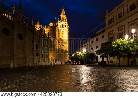 The Cathedral Of Saint Mary Of The See, Better Known As Seville Cathedral, Is A Roman Catholic Cathe