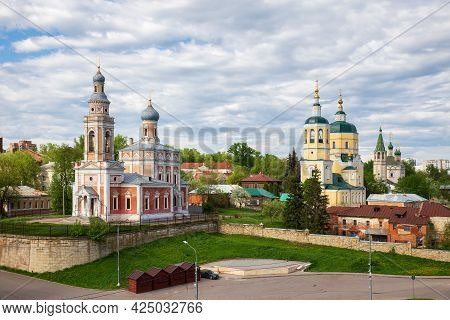 Serpukhov, Three Churches On The Cathedral Hill - Assumption, Elijah The Prophet And Trinity, View F