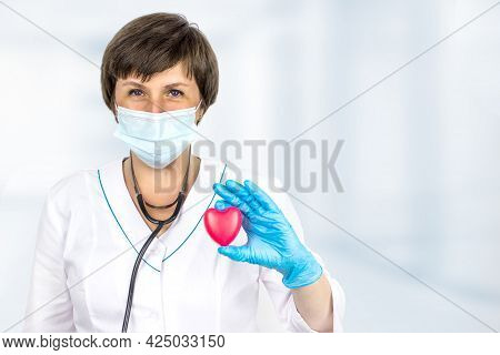 Concept Healthcare. Disease Diagnosis Medicine, Healthcare And Cardiology Concept. Doctor Cardiologi