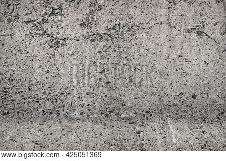 The Background Is A Concrete Wall Or Room, The Texture Of Concrete With A Vignette