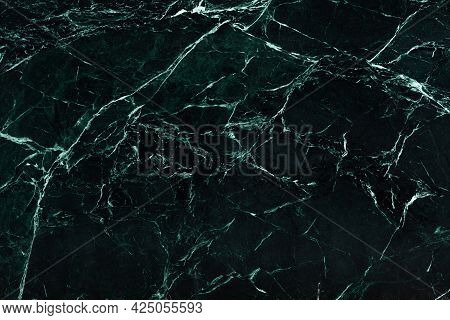 Imperial Green - Polished Dark Marble Stone Slab, Texture For Perfect Interior, Background Or Other