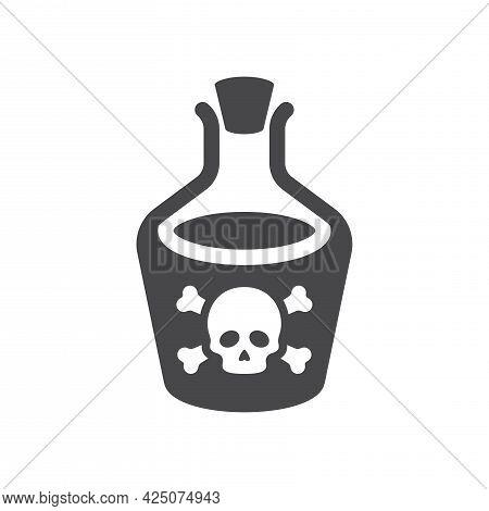 Bottle Poison Skull Icon.eps