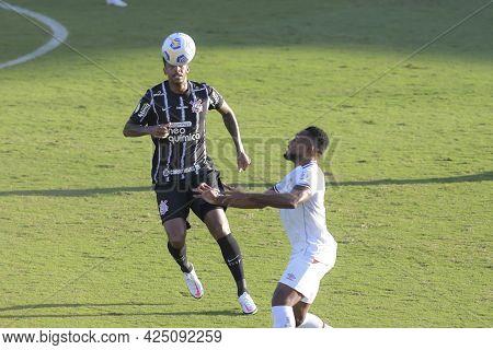 Rio, Brazil - June 27, 2021: Jo And Luccas Claro Player In Match Between Fluminense Vs Corinthians B