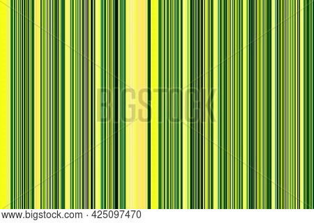 Yellow, White, Turquoise Parallel Vertical Lines. Simple Parallel Vertical Lines Pattern. Template F