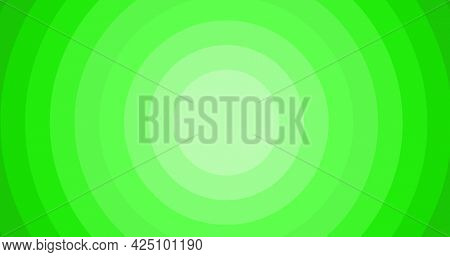 Composition of multiple green circles with copy space background. colour and writing space concept digitally generated image.