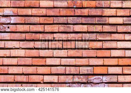 Brick Texture. Brick Wall. A Small Brick. The Texture Of The Brick Wall
