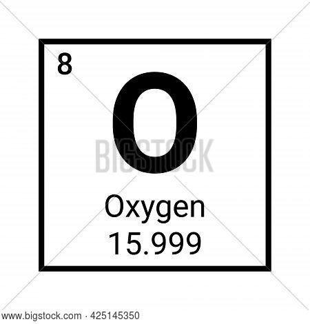 Nitrogen Periodic Element Icon. Chemical Symbol Nitrogen Vector Sign Atom Element