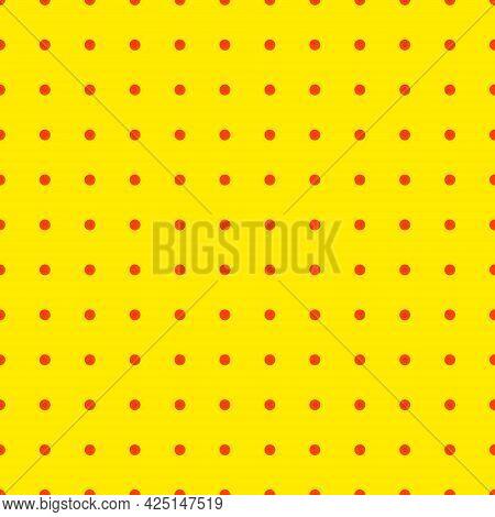 Pop Art Yellow Background Halftone Dot Graphic Cartoon Vintage Pattern Popart