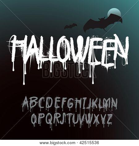 Halloween Splash Alphabet