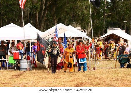 Native American Grand Entry