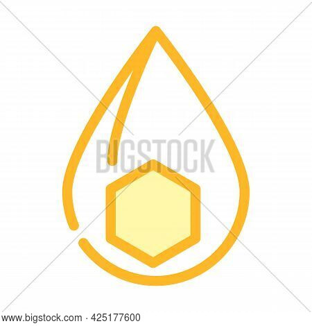 Fats Nutrition Fact Color Icon Vector. Fats Nutrition Fact Sign. Isolated Symbol Illustration