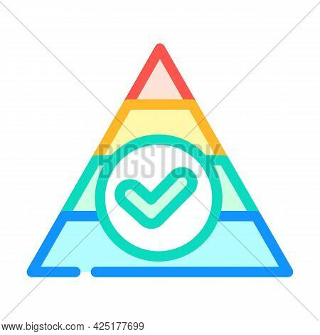 Balanced Diet Color Icon Vector. Balanced Diet Sign. Isolated Symbol Illustration