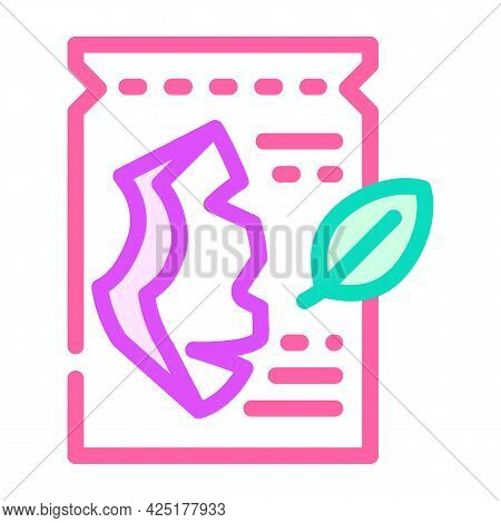 Sheet Mask Color Icon Vector. Sheet Mask Sign. Isolated Symbol Illustration